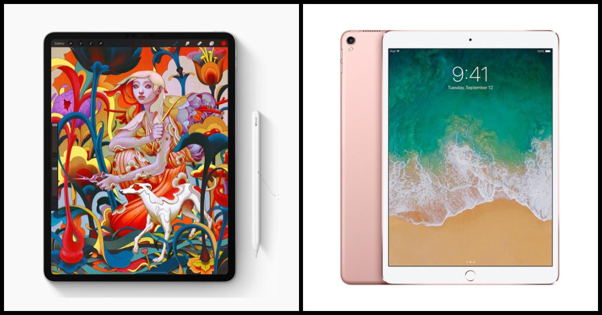 New iPad Pro 2018 vs iPad Pro 2017