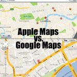 Apple Maps Vs Google Maps