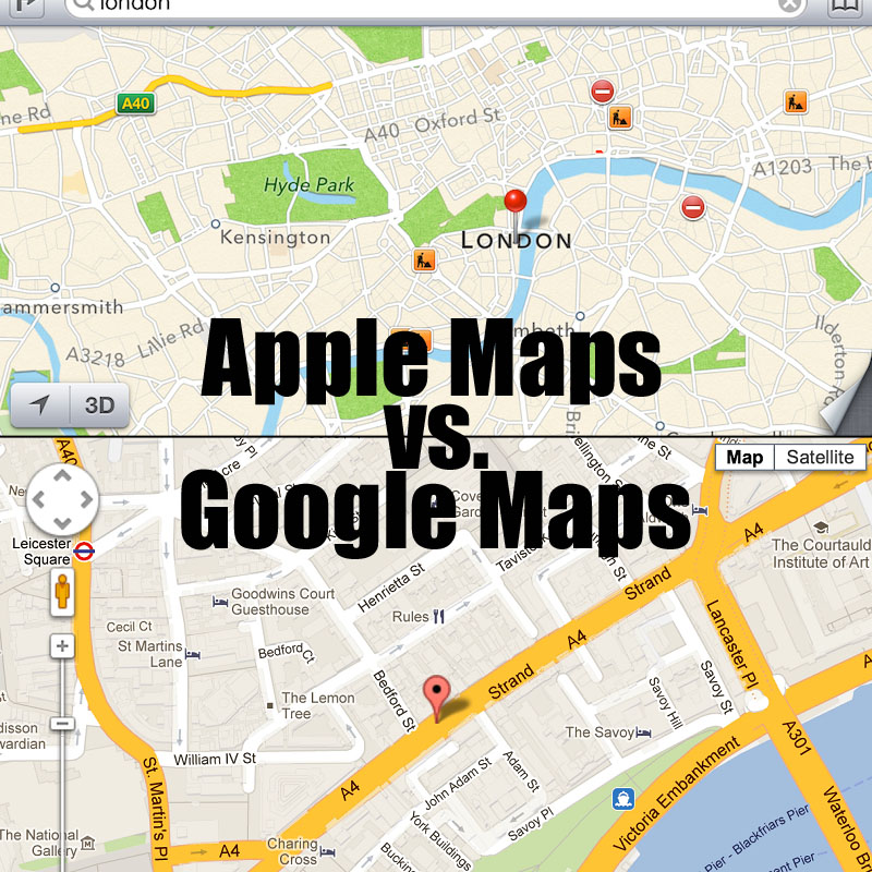 Apple Maps Vs Google Maps 2019, which is better to find your ... on marketing location, google latitude history view, google maps history, google maps funny, find ip address location, google compound, google location app, google address location, google maps listing, my current location, google products, google car location, google maps icon, google marker, google maps example, google location pin, google my location, google location icon, find current location, google location finder,
