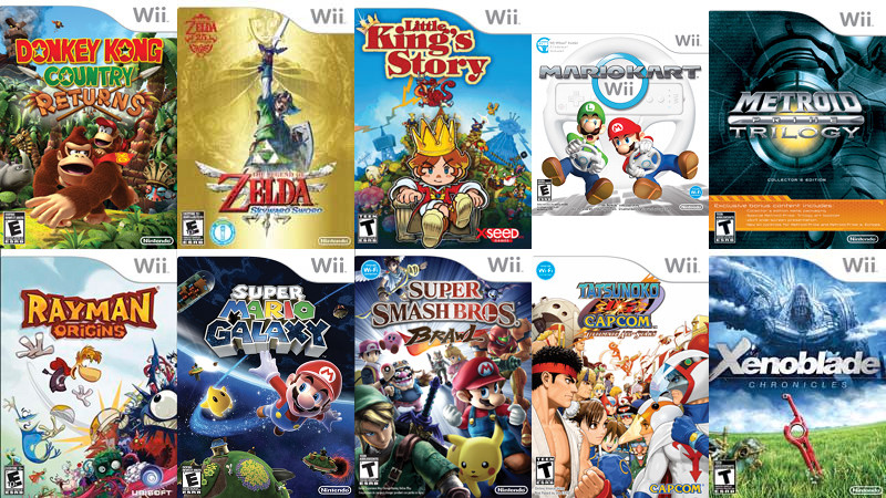 The best Wii games