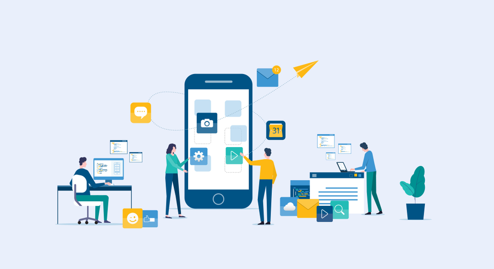 Top 5 frame Work For Mobile Application development 2019